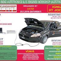 Mercedes Benz Autotronics and Ic Engines Workshop