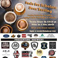 Suds for Scholars Beer Tasting
