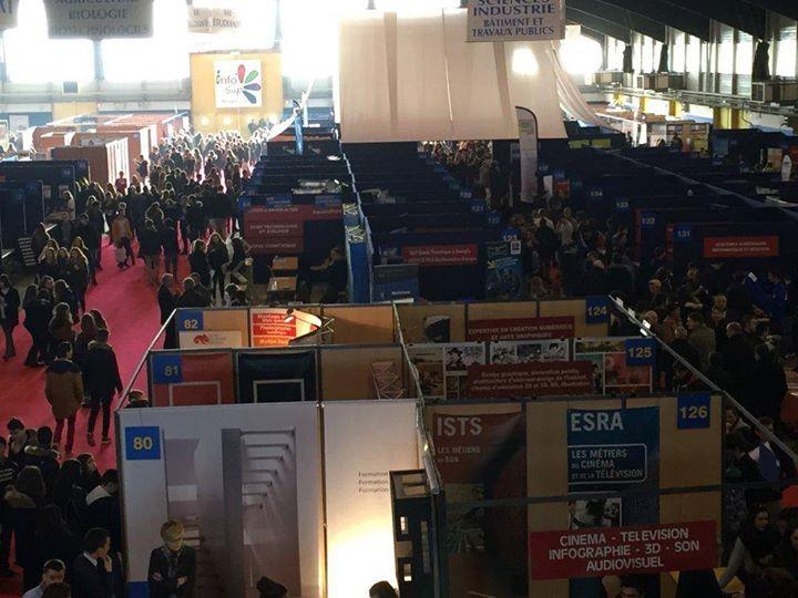 Salon infosup bretagne sud 2017 at parc des expositions du for Salon du chiot 2017 bretagne