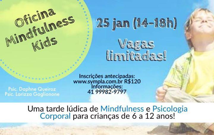 Oficina Mindfulness Kids