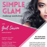 Simple Glam Makeup Workshop by Gail Sarion