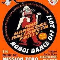 Robot Dance Off 2017 &amp Hardcore Halloween Party