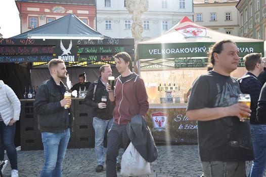 Minifestival malch pivovar na brnnskm Zelnm trhu