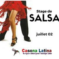Stage de salsa  Casona Latina