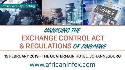 Managing the Exchange Control Act & Regulations of Zimbabwe