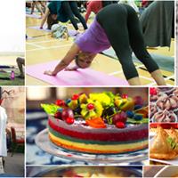 Delhi Yoga and Vegan Food Festival