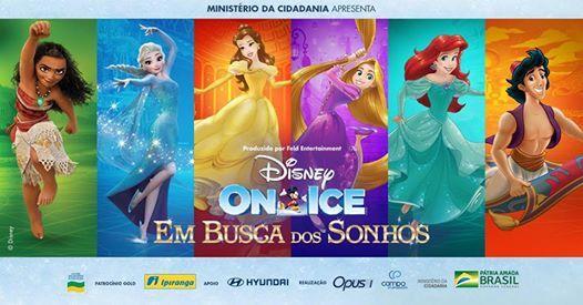 Disney On Ice em Busca dos Sonhos em Porto AlegreRS