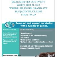 Oct 21 Fundraier Event