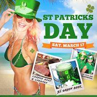 St. Patricks Day at Bamboo Beach Tiki Bar
