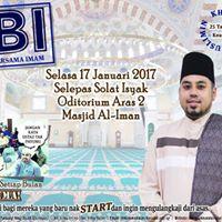 Sembang Bersama Imam Masjid Al-Iman