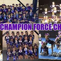 Lansing Cheer FREE Clinic Champion Force