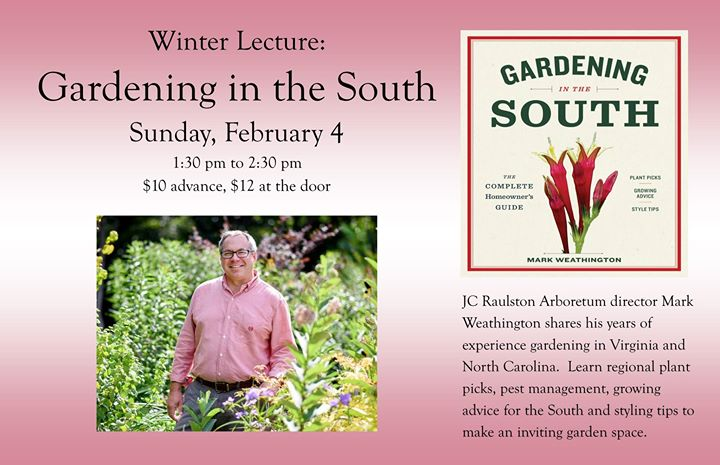 Winter Lecture: Gardening In The South At Friends Of Green Spring Gardens    FROGS, Alexandria