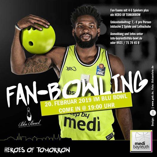 Fan-Bowling mit den HeroesOfTomorrow