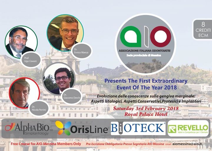 AIO Messina Presents The First Extraordinary Event of The Years 2018