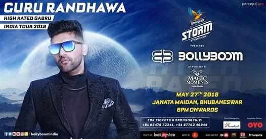 Bollyboom presents Guru Randhawa - Bhubaneswar