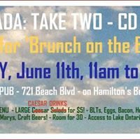 CD Launch &amp Brunch on the Beach