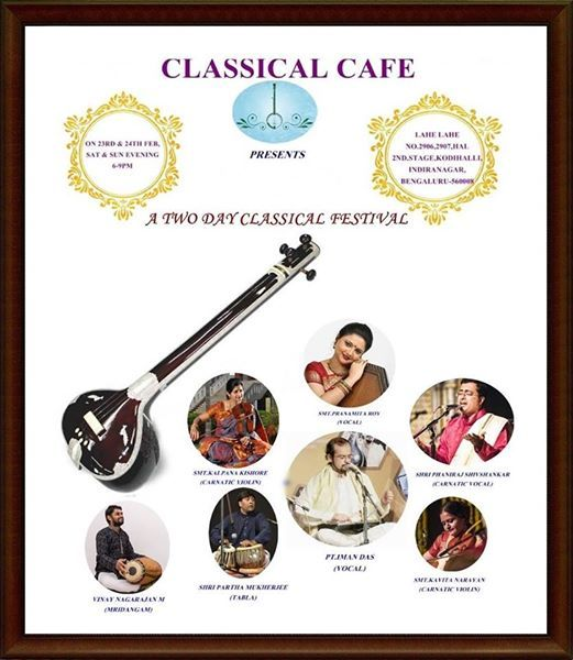 Classical Cafe Festival - With Classical Cafe-Two days festival