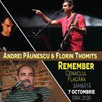 Andrei Punescu &amp Florin Thomits  Remember Cenaclul Flacra