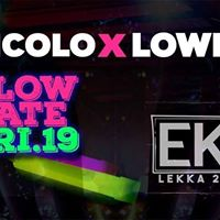 Nicol x Lowe  Glow date at EKEI Basement