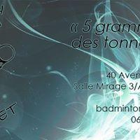 1er Tournoi Muret - Double nocturne Promobad