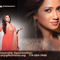Shreya Ghoshal Live in Concert Los Angeles