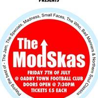 The Modskas Live at Oadby Town Football Club