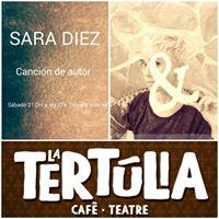 Sara Diez en concert
