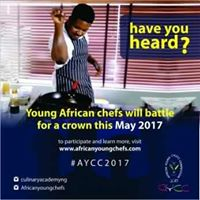 AFRICAN YOUNG CHEFS COMPETITION
