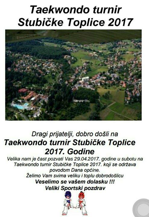2 Prijateljski Taekwondo turnir Stubike Toplice 2017