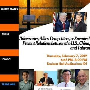 Public Event-Panel Discussion US China Relations