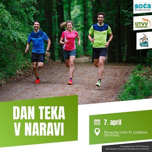 Dan Teka v Naravi - Ljubljana (nedelja 7. 4.)