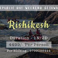 Rishikesh River Rafting Trip