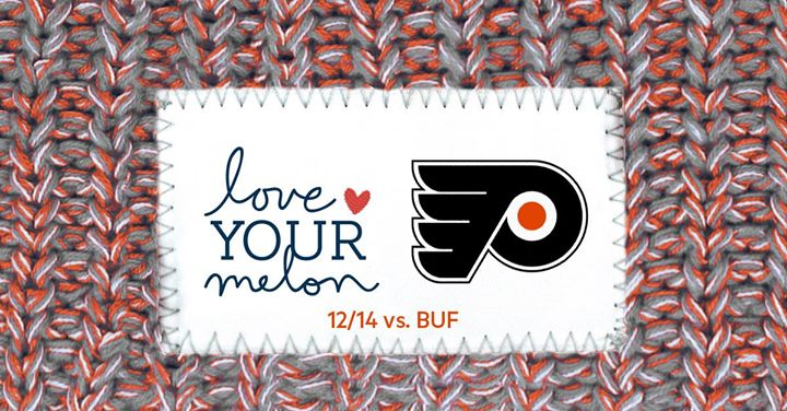 Philadelphia Flyers Love Your Melon Night - SOLD OUT at Wells Fargo ... 21f8d3a1348