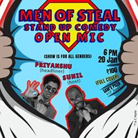 Men of Steal - Stand Up Comedy Open Mic