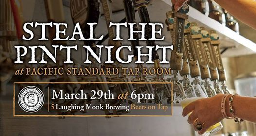 Steal the Pint Night with Laughing Monk Brewing