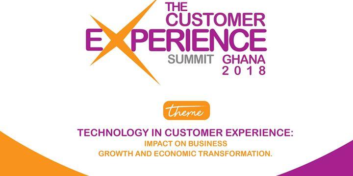 THE CUSTOMER EXPERIENCE SUMMIT GHANA. 2018