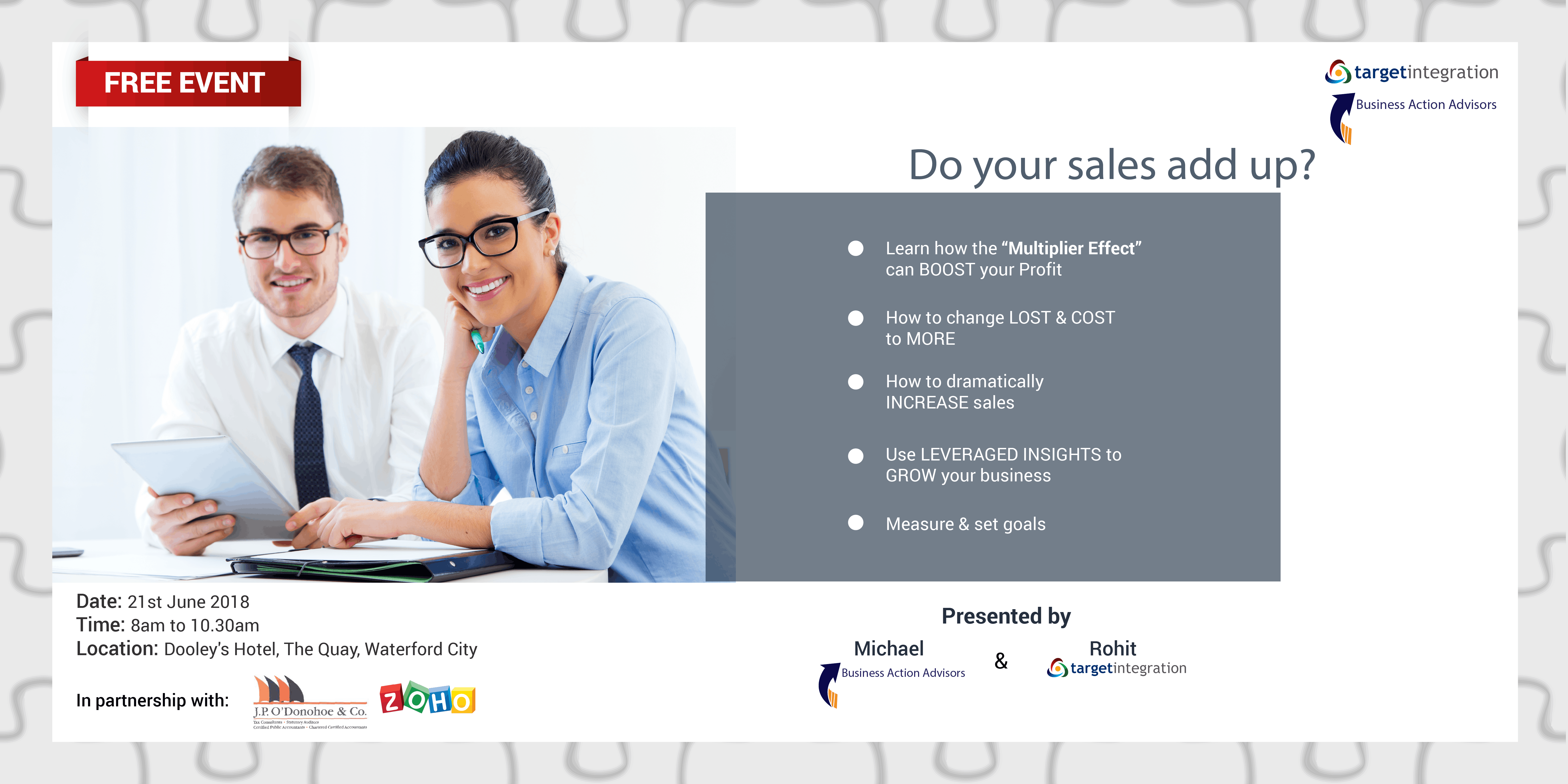 Do your sales add up