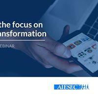 Webinar Keeping the focus on Digital Transformation