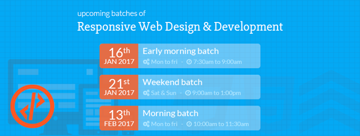 Responsive Web Design & Development Training
