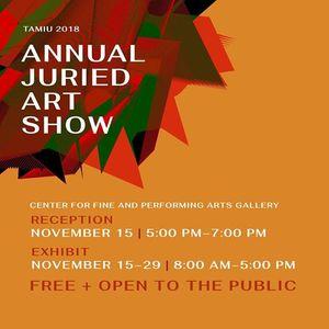 TAMIU 2018 Annual Juried Art Show