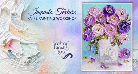 Impasto Texture Knife Painting Workshop