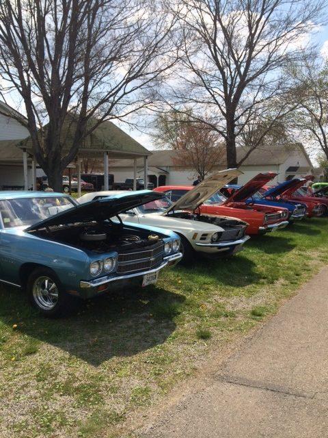 Canfield Swap Meet >> Canfield Swap Meet Car Corral Sunday Car Show At Mahoning