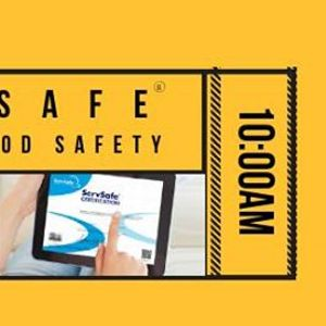 Monterey CA ServSafe Manager Food Safety Class and Exam