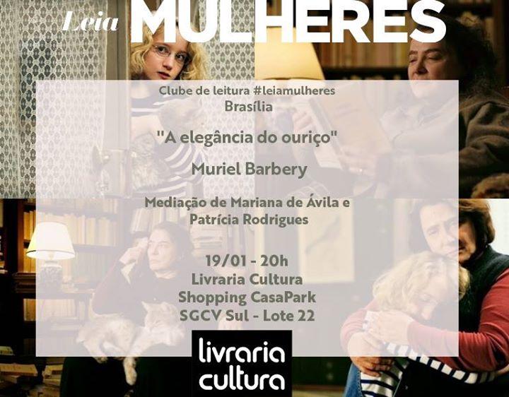 Leia Mulheres Braslia - A elegncia do ourio Muriel Barbery