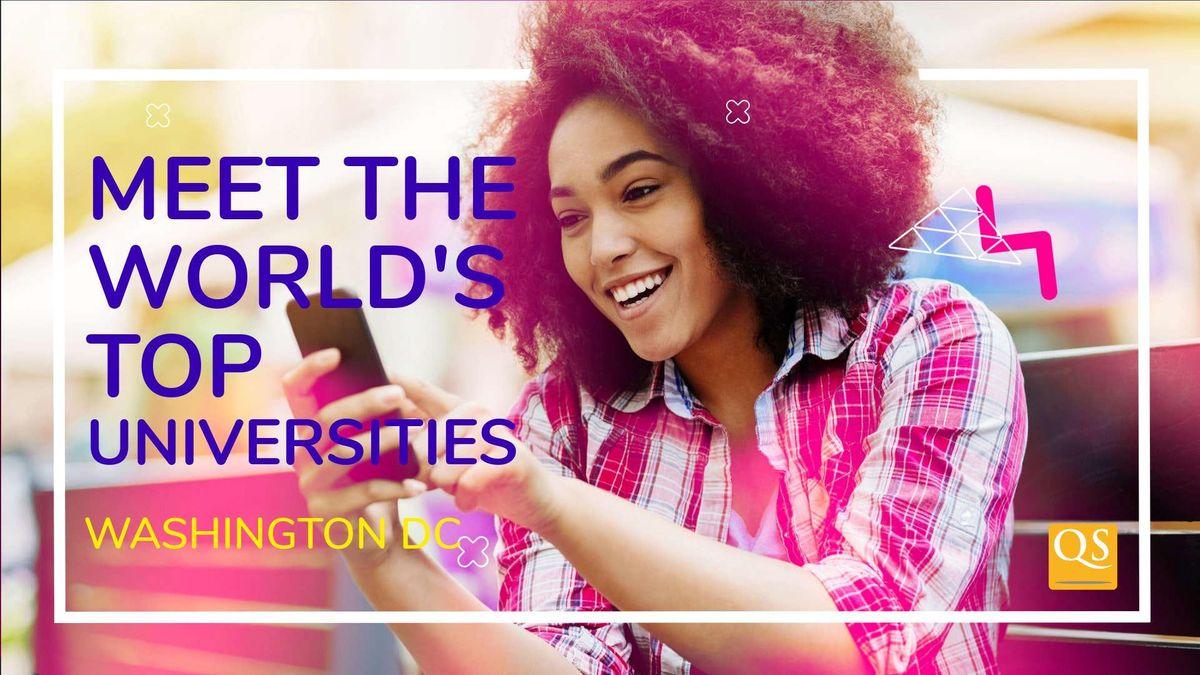 Washington DC Graduate Fair - Meet Top US & International Masters Programs