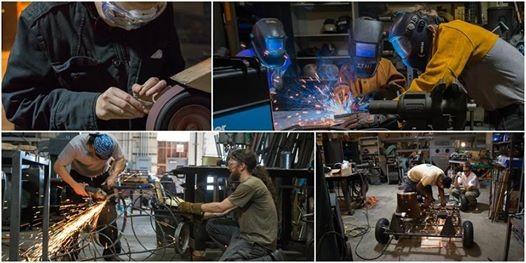 Intro to TIG welding with Randal Meraki 8.23.18