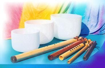 Crystal Bowls & Native Flutes Sound Bath