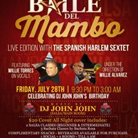Baile del Mambo Live Edition with The Spanish Harlem Sextet
