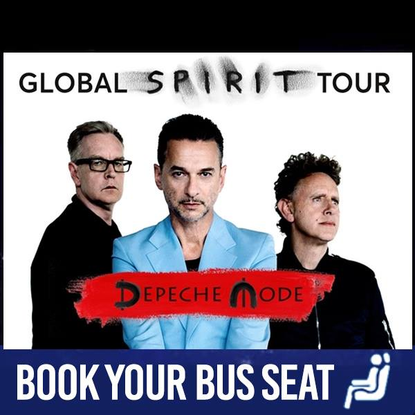 Bus to Depeche Mode 15th November 2017 in 3Arena