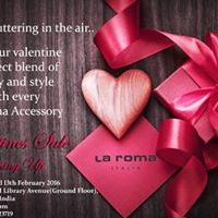 La Roma Valentines Sale